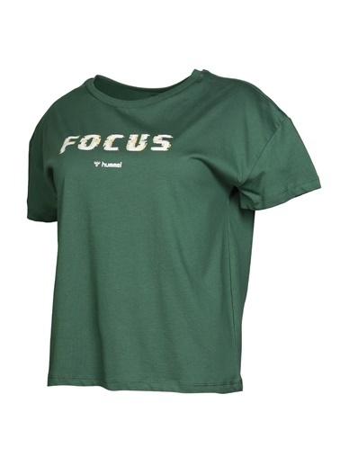 Hummel Kadın Tişört Sana 911025-6761 Yeşil